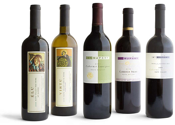 A Collection of Wines from St. Supery Vineyards & Winery